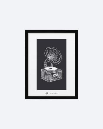 product_print_black_frame_30_x_40_cm_black_phonographe