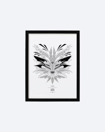 product_print_black_frame_30_x_40_cm_fox